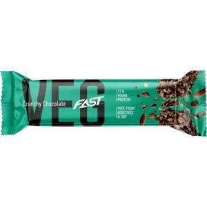 Tyčinka FAST FAST VEG BAR 50 g CHOCOLATE Vegan protein