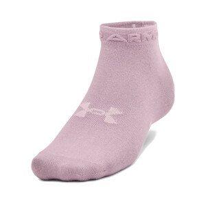 Ponožky Under Armour UA Essential Low Cut 3Pk-PNK