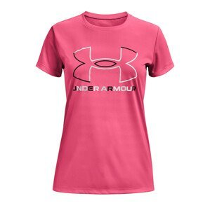 Triko Under Armour Tech BL Solid Body SS-PNK