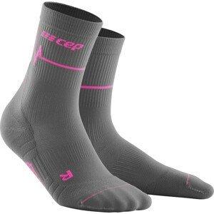 Ponožky CEP CEP Heartbeat Mid-Cut Socken Running W