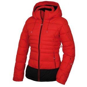Husky  Nerel L S, jemně červená Dámská plněná zimní bunda