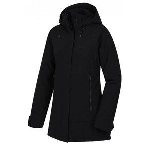Husky  Nigalo L XL - plus, černá Dámský hardshell plněný kabátek