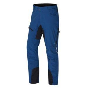 Husky  Keson M L, tm.modrá Pánské softshell kalhoty