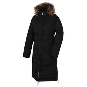 Husky  Downbag L M, černá Dámský péřový kabát