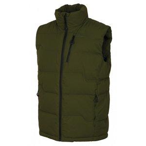 Husky  Deep M L, tm. zelená Pánská péřová vesta