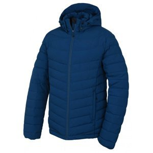 Husky  Donnie M L, tm.modrá Pánská péřová bunda