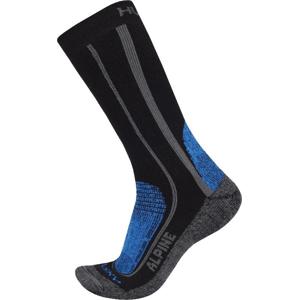 Husky  Alpine modrá, L (41-44) Ponožky