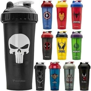 Perfect Shaker Marvel Hero 800ml Deadpool