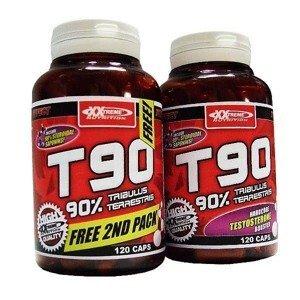 T90 - Extreme Testosterone Booster 1+1 zdarma 120kps. + 120kps. zdarma! 120kps. + 120kps. zdarma!