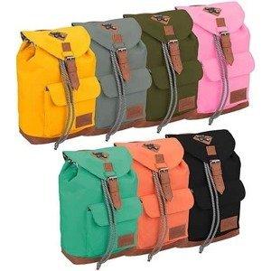 Dětský batoh Abbey Leather Strap Oranžový