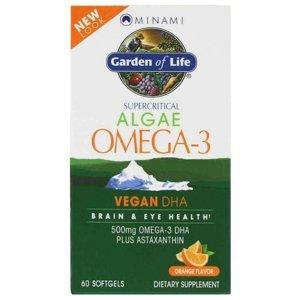 Minami Nutrition Omega 3 Vegan DHA z mořské řasy 60 tablet