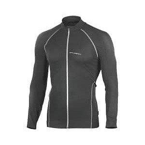 Runner pánská mikina barva: černá-šedá;velikost oblečení: S
