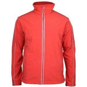 Jacket pánská softshellová bunda barva: červená;velikost oblečení: M