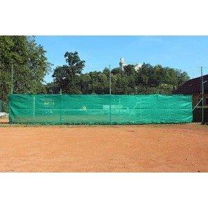Merco zástěna na tenisové kurty Classic 18 pohledová plachta 1,9x12m zelená tmavě zelená