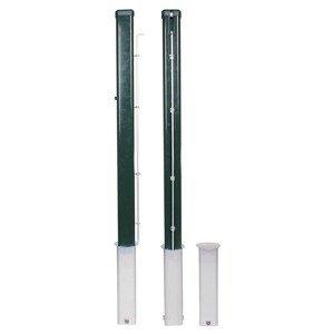 Merco sloupky tenisové Standart práškované, 80x80mm 1 pár
