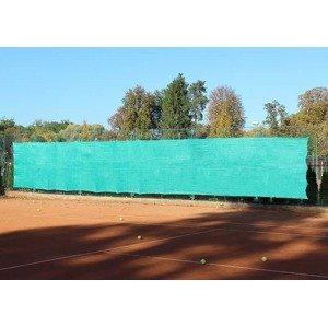 Merco Professional zástěna na tenisové kurty 2x12m zelená sv.
