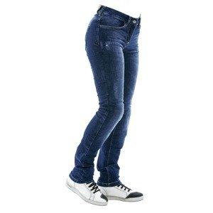 Dámské moto jeansy City Nomad Karen Iron Barva modrá, Velikost XS