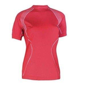 Dámské thermo tričko Brubeck s krátkým rukávem Barva červená, Velikost M