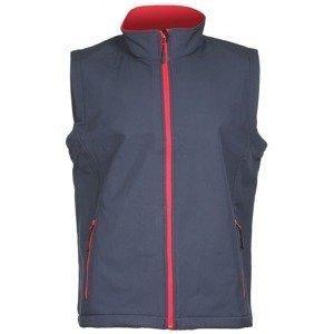 Promo pánská softshellová vesta barva: šedá;velikost oblečení: M