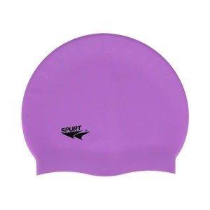 Silikonová čepice SPURT G-Type F228 senior, fialová