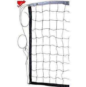 Síť volejbalová s ocelovým lankem 4001N SEDCO černá  9,7 x 1 m - černá
