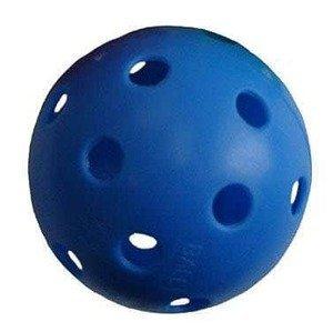 Florbalový míček PROFESSION barevný SPORT 2020 modrý - modrá
