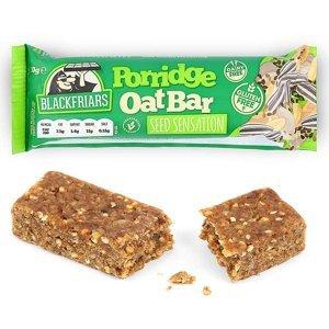 Blackfriars Porridge Oat bar Hmotnost: 50g, Příchutě: Cocoa, Cranberry and Orange