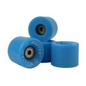 Kolečka pro plastik board MASTER - 60 x 45 mm - modré