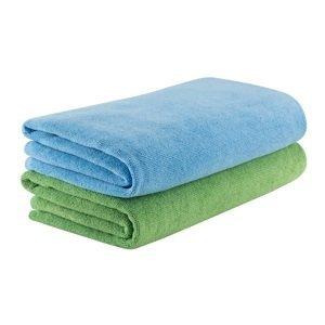Rychleschnoucí ručník KING CAMP Camper 60x120 cm zelený