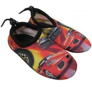 Boty do vody AQUA SURFING Cars - vel. 28