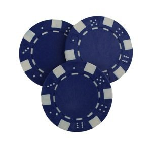 Poker žeton MASTER - modrý