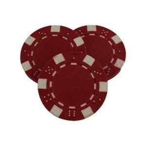 Poker žeton MASTER - červený
