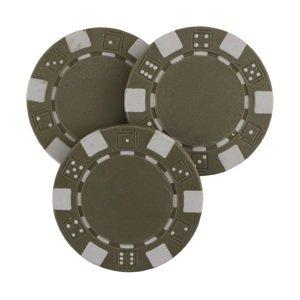 Poker žeton MASTER - šedý