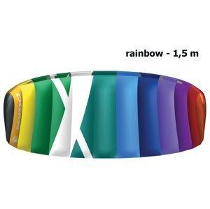 Kite komorový CROSS Air rainbow - vel. 1,5 m