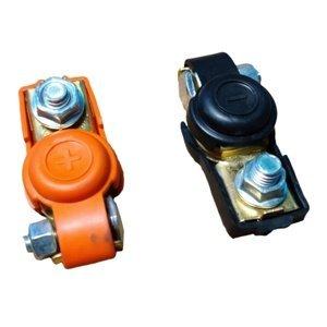 Bateriové svorky - set