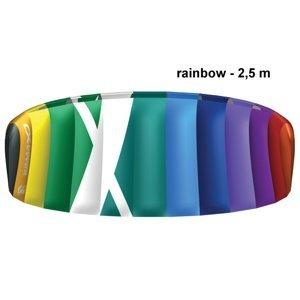 Kite komorový CROSS Air rainbow - vel. 2,5 m