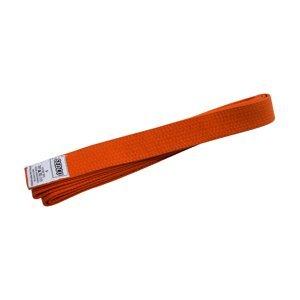 Pásek ke kimonu - velikost 4 - oranžový