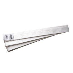 Pásek ke kimonu - velikost 3 - bílý