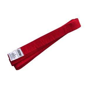 Pásek ke kimonu - velikost 4 - červený