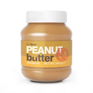 Arašídové máslo 100% 340 g hladký - GymBeam