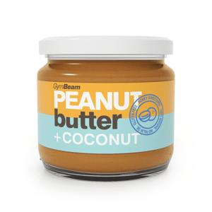 Arašidové maslo s kokosom 340 g kokos - GymBeam