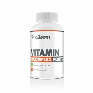 Vitamín B-Complex Forte 90 tab. bez příchuti - GymBeam