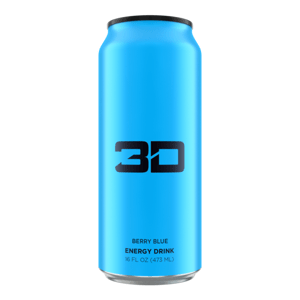 3D Energy Drink 473 ml candy punch - 3D Energy