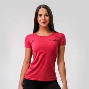 Dámské tričko Basic Vintage Red L - GymBeam