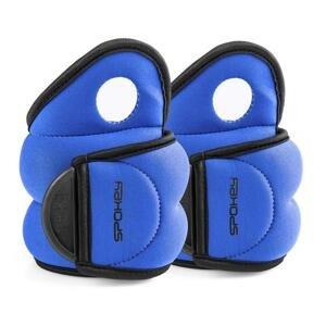Závaží na zápěstí COM FORM IV 2 x 1,5kg modré - Spokey