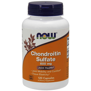 Chondroitin Sulfát 600 mg 120 kaps. - NOW Foods
