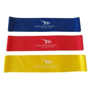 Posilovací gumy Resistance Bands Set - YAKIMASPORT