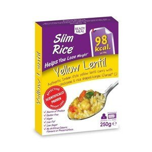 Hotové jídlo Slim Rice Yellow Lentil 250 g - Slim Pasta