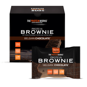 Protein Brownie 40 g millionaire's shortbread - The Protein Works