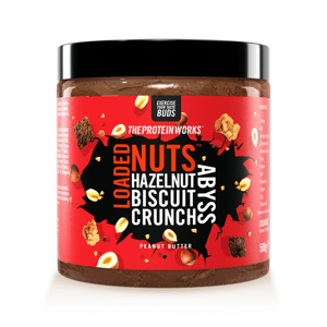 Arašídové máslo Loaded Nuts 500 g cookies and cream plunge - The Protein Works